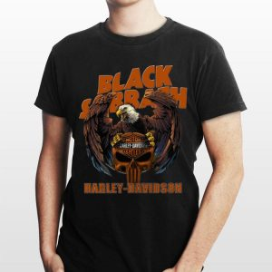 Eagle Black Sabbath Harley Davidson shirt