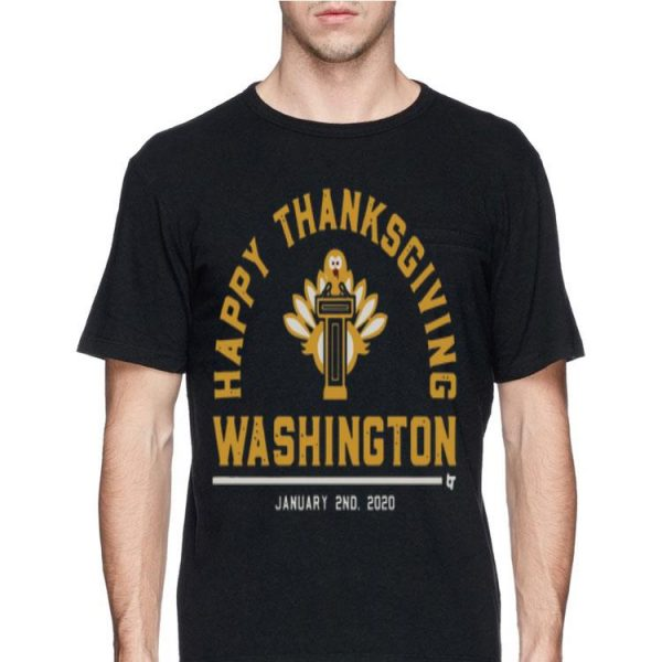 Happy Thanksgiving Washington shirt