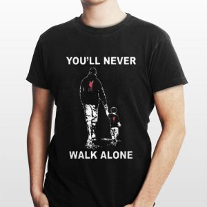 Liverpool Football Club Father and Son You'll never walk alone shirt