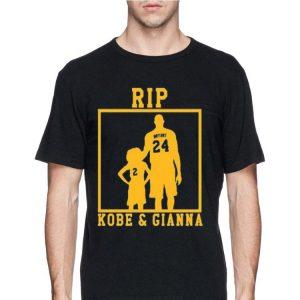 Rip Kobe Bryant and Gianna shirt