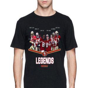 San Francisco 49ers Legends Dwight Clark Ronnie LOtt Jerry Rice shirt