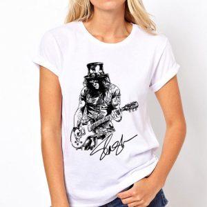 Slash Guns N' Roses signature shirt