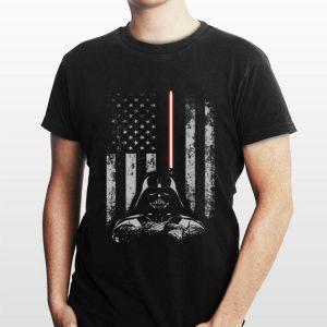 Star Wars Darth Vader American Flag shirt
