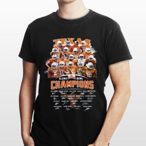 Texas Alamo Bowl Champions Signature shirt