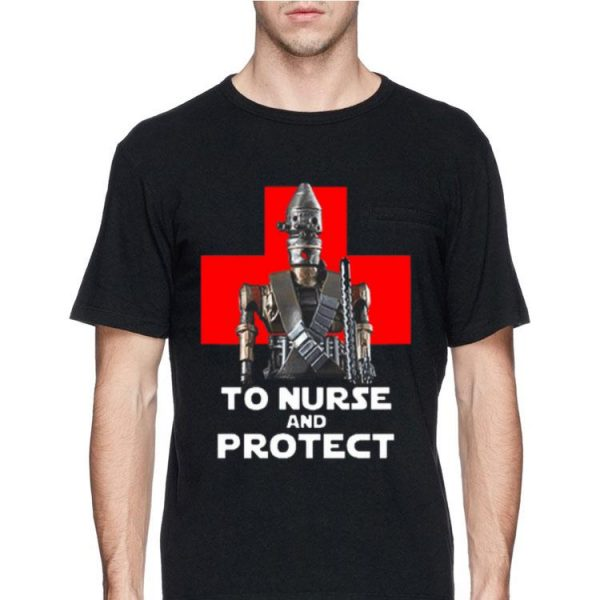 The Mandalorian to Nurse and Protect shirt