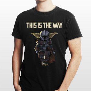 This is the way Baby Yoda Mashup Mandalorian shirt