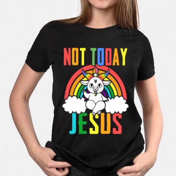 Unicorn Not Today Jesus shirt