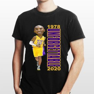1978 Unforgettable 2020 Classic Basketball Tribute shirt