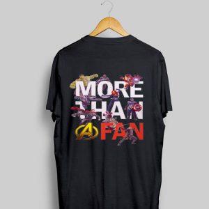 Avengers More Than A Fan Signatures shirt