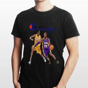 Champion Kobe Bryant shirt