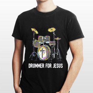 Drummer For Jesus shirt