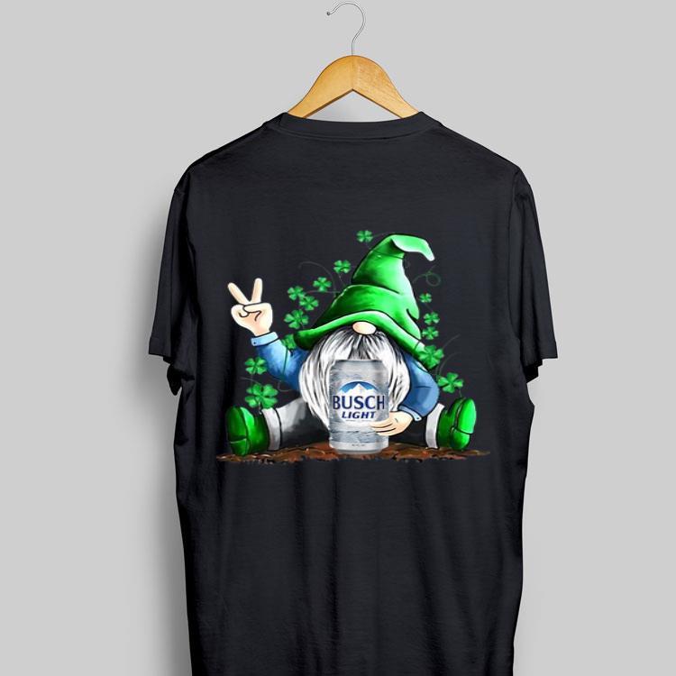 Gnome Hug Busch Light St Patrick's Day Shirt, Hoodie