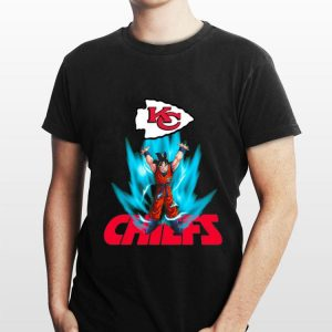 Goku Genkidama Kansas City Chiefs Super Bowl Champions shirt