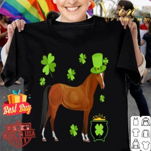 Horse Lovers St. Patrick's Day Gift shirt