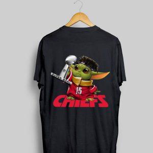 Kansas City Chiefs Baby Yoda Patrick Mahomes Nfl Super Bowl Liv shirt