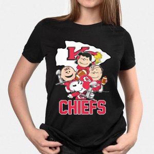 Kansas City Chiefs Peanuts Characters shirt