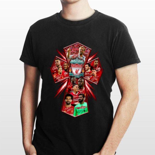 Liverpool FC Cross Jesus shirt