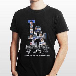 Los Angeles Dodgers Alex Verdugo Kenta Maeda Joc Pederson Thank You For The Memories shirt