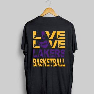 Love Love Lakers Basketball shirt
