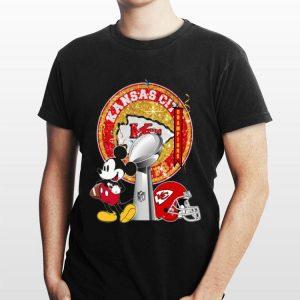 Mickey Mouse Kansas City Chiefs Champions shirt