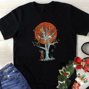 Nice Baby Groots On Tree Blood Moon shirt