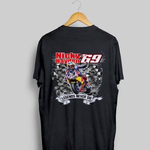 Nicky Hayden Legends Never Die shirt