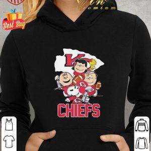 Original Snoopy Kansas City Chiefs Champion Peanuts Characters shirt