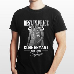 Rest In Peace Kobe Bryant 1978 2020 Signature shirt