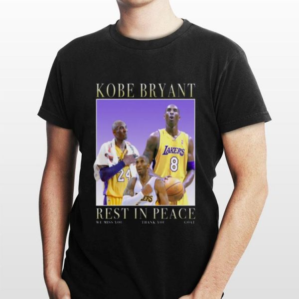 Rip Kobe rest in peace shirt