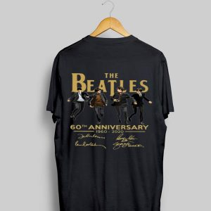 The beatles 1960 2020 Classic signatures shirt