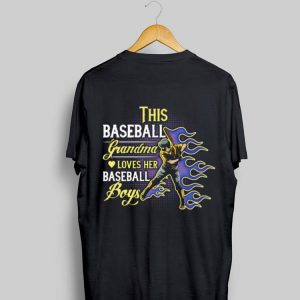 This baseball grandma loves her baseball boy shirt
