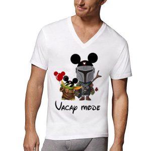 Baby Yoda And The Mandalorian Mickey Vacay Mode shirt
