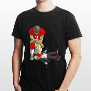 Colin Kaepernick kneels Donald Trump shirt
