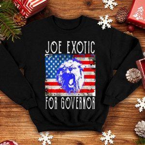 Joe Exotic For Governor American Flag shirt