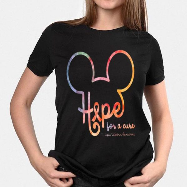 Mickey Mouse Hipe For A Cure Multiple Sclerosis Awareness shirt