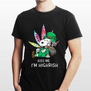 Snoopy Kiss Me I'm Highrish shirt