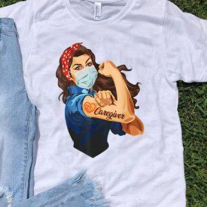 Strong Girl Tattoo Caregiver shirt