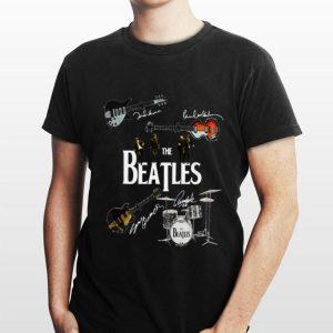 the beatles musical signatures shirt