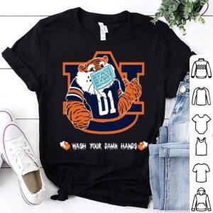 Auburn Tigers Wash Your Damn Hands Covid-19 shirt