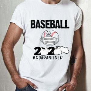 Baseball 2020 Toilet Paper #Quarantined Covid-19 shirt