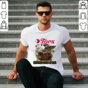 Original Baby Yoda Tops Friendly Markets Survived Covid 19 2020 Star Wars shirt