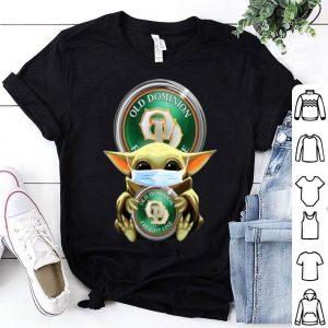 Star Wars Baby Yoda Mask Hug Old Dominion Freight Line Covid-19 shirt