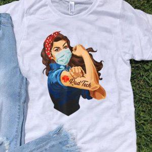 Strong Woman Tattoo Rad Tech shirt