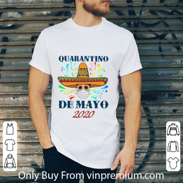 Awesome Quarantino De Mayo 2020 Coronavirus shirt 2