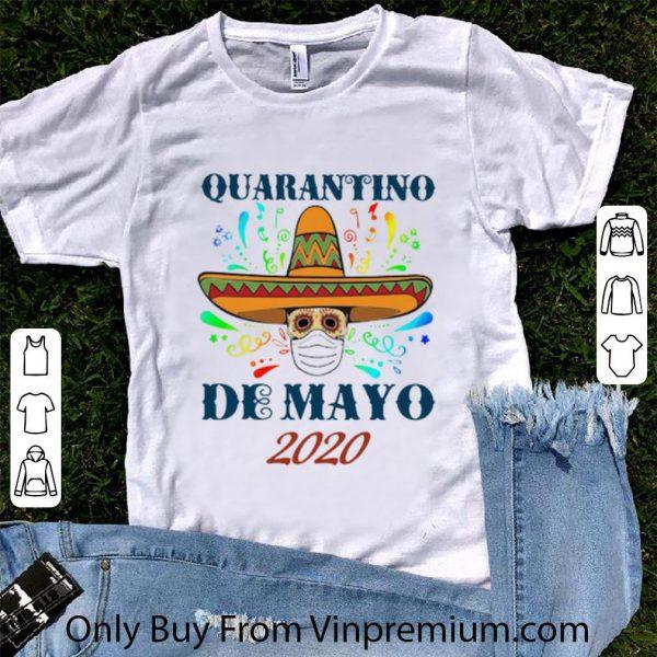 Awesome Quarantino De Mayo 2020 Coronavirus shirt 1