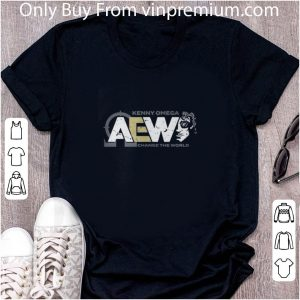 Awesome Aew Kenny Omega Change The World shirt 4