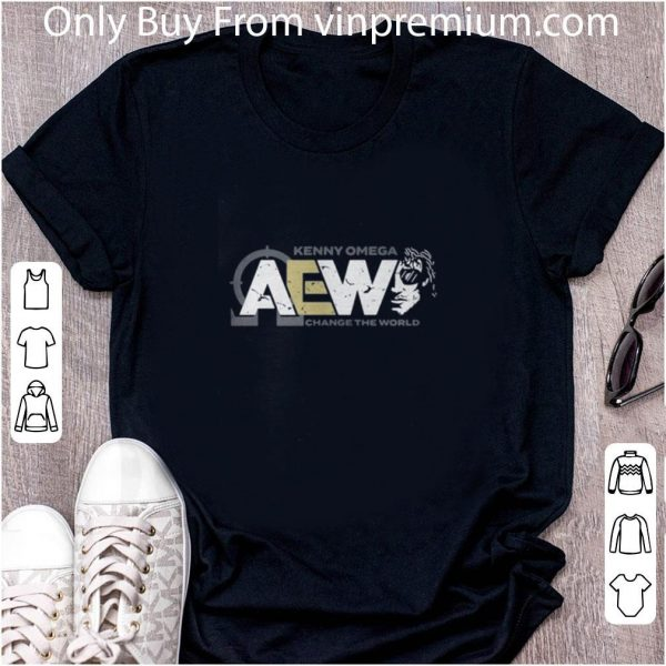 Awesome Aew Kenny Omega Change The World shirt 2