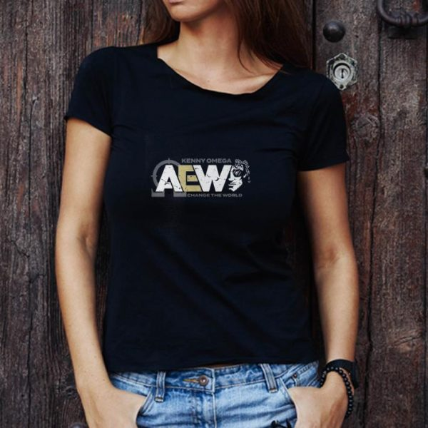 Awesome Aew Kenny Omega Change The World shirt 1