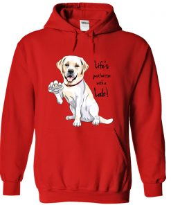 hoodie-red-lifes-just-better-with-a-lab