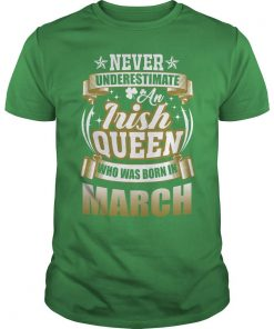 March saint patricks day guys tee